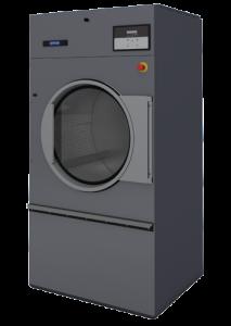 Индустриальная высокоэффективная сушильная машина DX34. Оснащена Full OPL микропроцессором. Обеспечивает газовый, паровой и электрической нагрев и радиальный поток воздуха. Оборудована большим пылевым фильтром.
